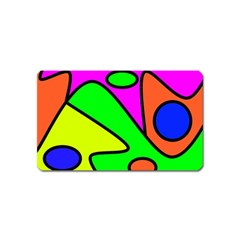 Abstract Magnet (name Card)