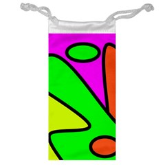 Abstract Jewelry Bag