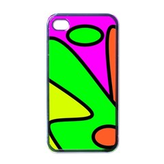 Abstract Apple iPhone 4 Case (Black)