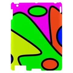 Abstract Apple iPad 2 Hardshell Case