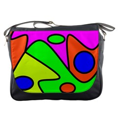 Abstract Messenger Bag