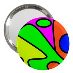 Abstract 3  Handbag Mirror