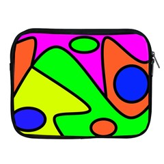 Abstract Apple iPad Zippered Sleeve
