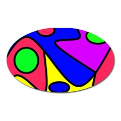 Abstract Magnet (Oval)