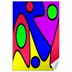 Abstract Canvas 24  x 36  (Unframed)