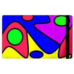 Abstract Apple iPad 3/4 Flip Case