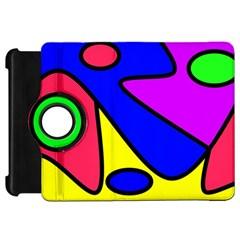 Abstract Kindle Fire HD 7  (1st Gen) Flip 360 Case