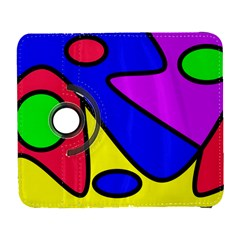 Abstract Samsung Galaxy S  Iii Flip 360 Case