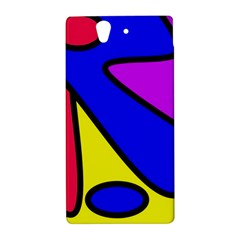 Abstract Sony Xperia Z L36H Hardshell Case