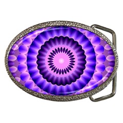 Mandala Belt Buckle (Oval)