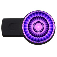 Mandala 4gb Usb Flash Drive (round)