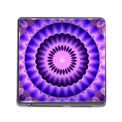 Mandala Memory Card Reader With Storage (square)