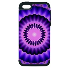 Mandala Apple Iphone 5 Hardshell Case (pc+silicone)