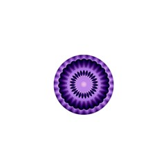 Mandala 1  Mini Button Magnet