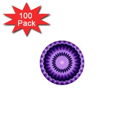 Mandala 1  Mini Button (100 Pack)