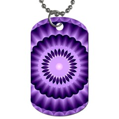 Mandala Dog Tag (two Sided)