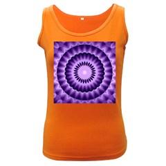 Mandala Womens  Tank Top (Dark Colored)