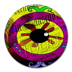 Abstract 8  Mouse Pad (Round)