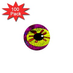 Abstract 1  Mini Button Magnet (100 pack)