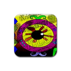 Abstract Drink Coaster (square)