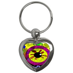 Abstract Key Chain (Heart)