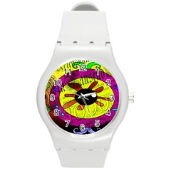 Abstract Plastic Sport Watch (Medium)