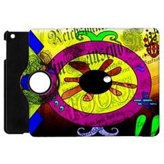Abstract Apple Ipad Mini Flip 360 Case