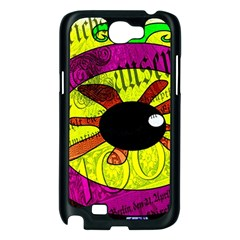 Abstract Samsung Galaxy Note 2 Case (Black)