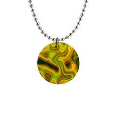 Abstract Button Necklace