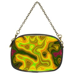 Abstract Chain Purse (One Side)