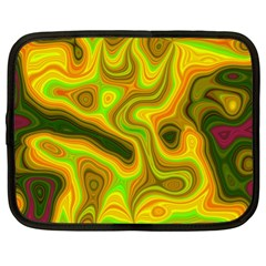 Abstract Netbook Sleeve (XL)
