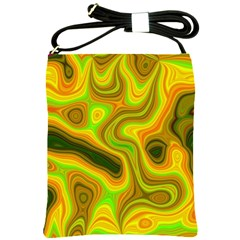 Abstract Shoulder Sling Bag