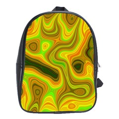 Abstract School Bag (xl)