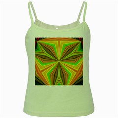 Abstract Green Spaghetti Tank