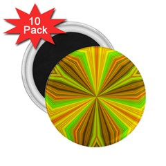 Abstract 2 25  Button Magnet (10 Pack)