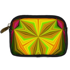 Abstract Digital Camera Leather Case