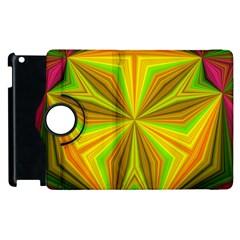 Abstract Apple iPad 3/4 Flip 360 Case