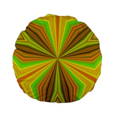Abstract 15  Premium Round Cushion