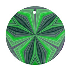 Abstract Round Ornament