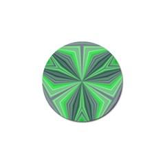 Abstract Golf Ball Marker