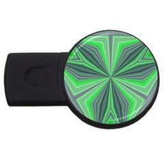 Abstract 2GB USB Flash Drive (Round)