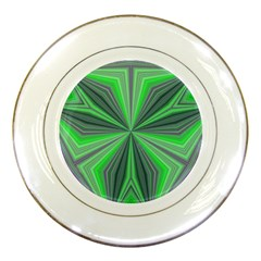 Abstract Porcelain Display Plate