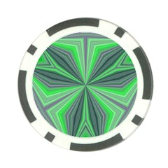 Abstract Poker Chip