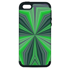 Abstract Apple Iphone 5 Hardshell Case (pc+silicone)