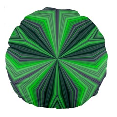 Abstract 18  Premium Round Cushion