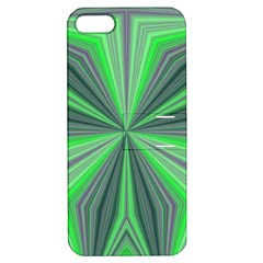 Abstract Apple Iphone 5 Hardshell Case With Stand