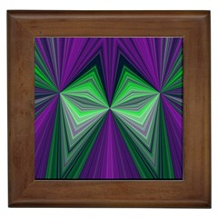 Abstract Framed Ceramic Tile