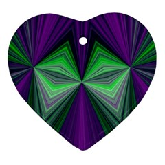 Abstract Heart Ornament