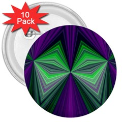 Abstract 3  Button (10 Pack)
