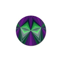 Abstract Golf Ball Marker 10 Pack